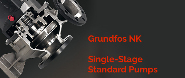 Grundfos NK, NKE, NKG and NKGE are single-stage standard pumps designed for a wide range of applications where reliability and efficiency is required.