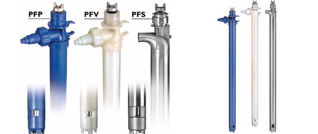 Pompes Vide-Fûts FTI - Finish Thomson - Série PF à haute performance.