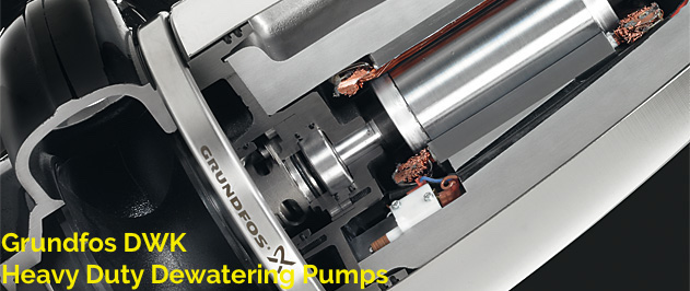Grundfos DWK — Heavy duty dewatering pumps
