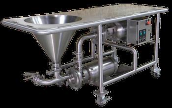 Ampco PM Powder Mixer is ideaal voor het mengen van droge producten in een voedingsmiddel vloeistof.