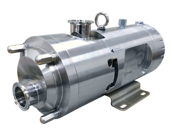 Pumps Ampco QTS - twin screw pumps for very demanding sanitary applications.