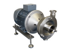 Ampco LME pompen - Centrifugaal, 100% CIP, EHEDG gecertificeerd, voor alle toepassingen in drank- en voedingsindustrie.