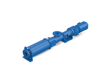Progressive Cavity Pumps also called PCP or Eccentric Screw Pumps for Biomethanation — Wangen ®, Seepex ®, Netzsch ®, and many more brands.
