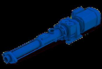 Les pompes Wangen KB-S GG atteignent une pression maximum de 16 bars pour un débit maximum de 5 m3 /h.