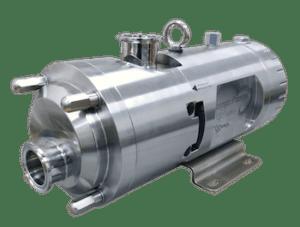Q-Pumps QTS - twin screw pumps for very demanding sanitary applications.