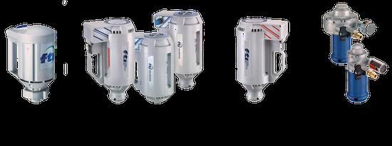 Pompes vide fûts FTI série PF pour le transfert de produits chimiques, acides, corrosifs...
