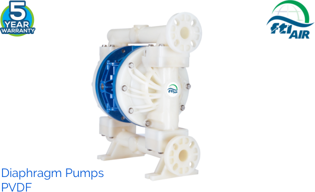 AODD or Air Operated Double Diaphragm Pumps non metallic
