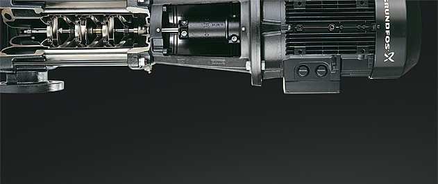 Grundfos BM Pressure booster for industrial applications and water desalination