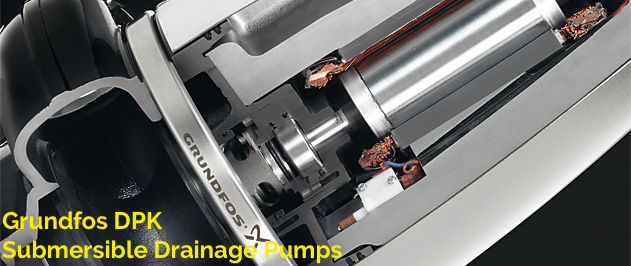 Grundfos DPK — Submersible drainage pumps