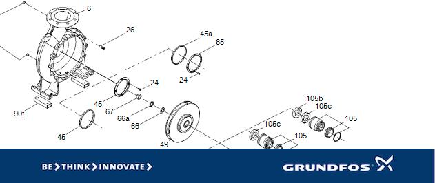 Grundfos spare parts