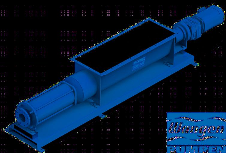 Les pompes Wangen, pompes à cavité progressive, de la série KL-R une durée de vie remarquable, même avec des fluides très difficiles.
