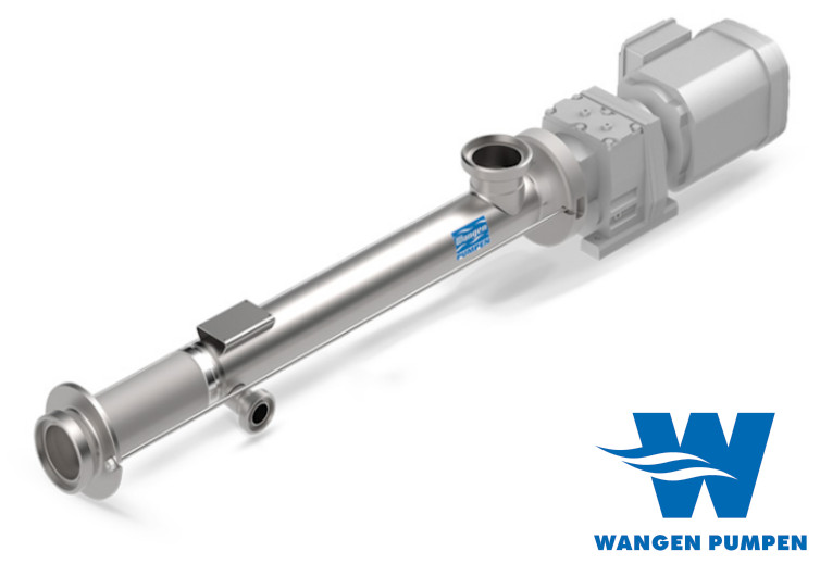 Wangen KB-SL eccentric screw pumps for sanitary applications - EHEDG-certified, to meet the needs of every application in the food and beverage industry.