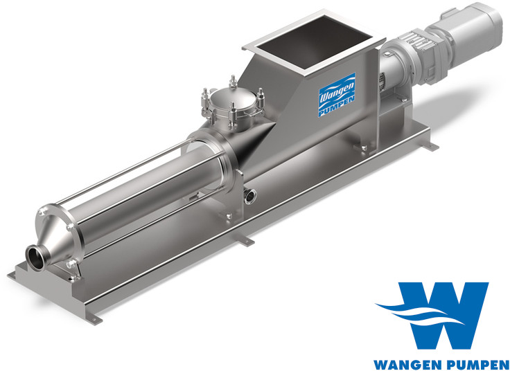 Wangen KB-RF eccentric screw pumps with insertion worm, for sanitary applications, to meet the needs of every application in the food industry.