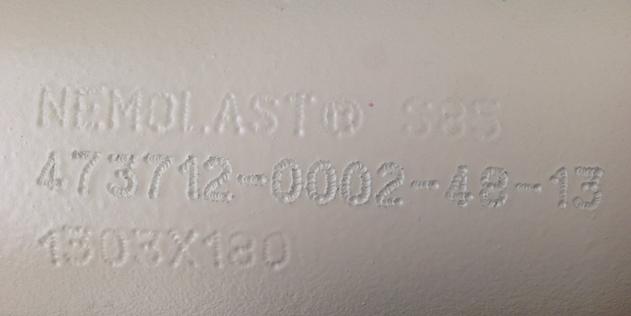Comment identifer le polymère utilisé dans un stator - NBR, BR, CSM, Hypalon®, EPDM, blanc, noir ....