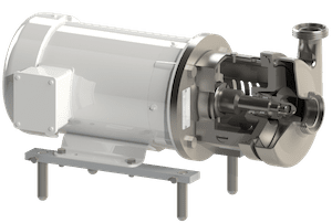 Q-Pumps QC and QC+ pumps. Centrifugal pumps, certified 3A, simple to maintain, QC / QC + series pumps are capable of delivering up to 209 m3 / h. Originally designed for use in dairies, the QC Series is experiencing tremendous growth in several new industrial applications.