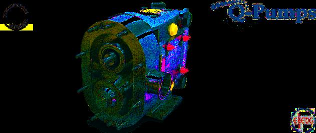 Q-Pumps ZP3 Pompen - Verdringerpompen voor de voedingsindustrie, inkten, pasta's, enz. - 100% CIP, EHEDG en ATEX gecertificieerd. Compatibel met Waukesha Universal ® U1 en U2 pompen - voldoet aan alle toepassingen in F&B, chemicaliën, ATEX atmosfeer, ...