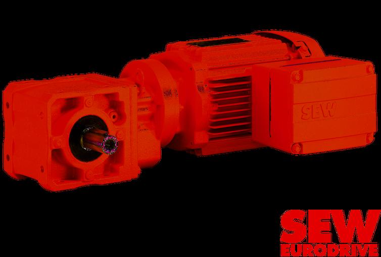 SEW Eurodrive, une gamme complète de réducteurs et de motors électriques pour pompes et équipements rotatifs.
