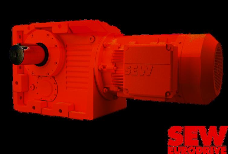 SEW Eurodrive, une gamme complète de réducteurs et motoréducteurs à renvoi d'angle pour pompes et équipements rotatifs.