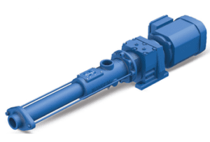 Wangen KB-S GG pumps achieve a maximum pressure of 16 bar for a maximum flow of 5 m³/h.