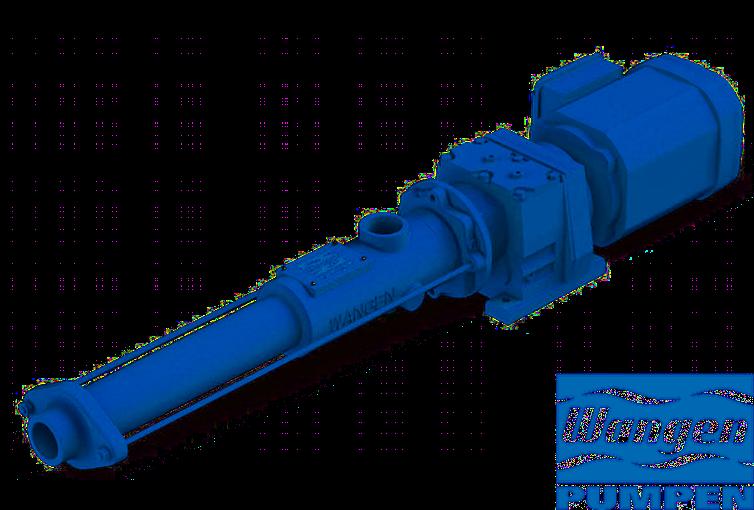 Les pompes Wangen, pompes à cavité progressive, de la série KB-S GG sont très compétitives et simples d'entretien.