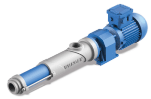 Wangen KB10S & KB22S pumps are the ideal pumps for introducing polymers into the wastewater treatment process.