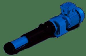 Wangen KB10S en KB22S pompen zijn ideaal voor het pompen van polymeren in processen voor de behandeling van afvalwater.