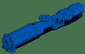 Wangen KL-S pompen hebben een debiet tot 560 m³.