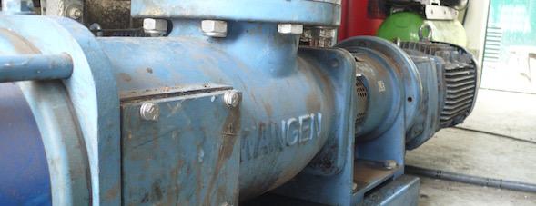 Pompe à vis excentrée Wangen dans l'industrie de Biogaz