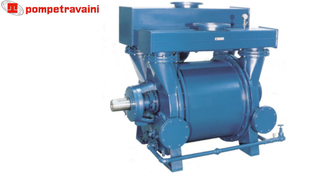 Vacuum pumps and systems made by Travaini pour all industrial applications. Travaini TRV.