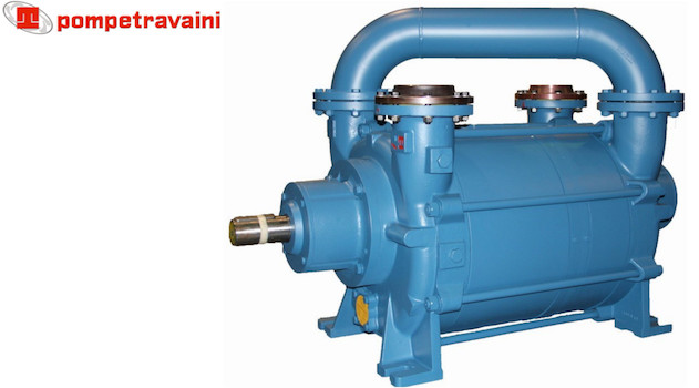 Vacuum pumps and systems made by Travaini pour all industrial applications. Travaini TRHA150.