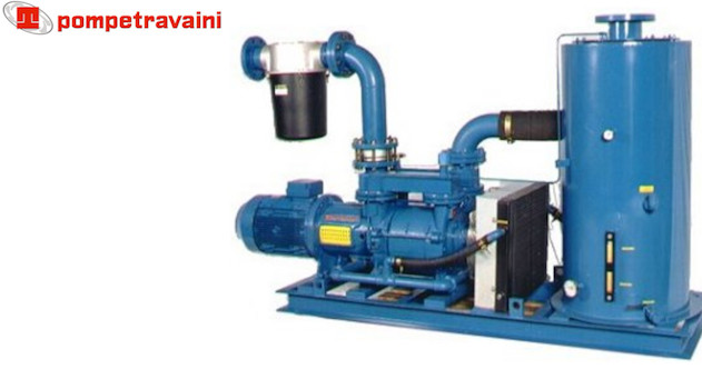 Vacuum pumps and systems made by Travaini pour all industrial applications. Travaini OilPack.