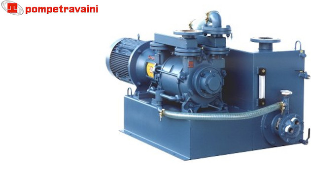 Vacuum pumps and systems made by Travaini pour all industrial applications. Travaini HydroPack.
