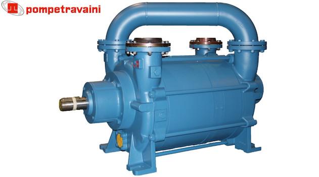Pompes à vide Travaini pour tous types d'applications industrielles. Modèle TRHA150.