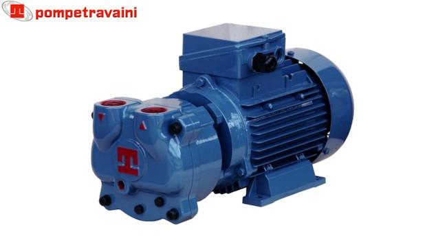 Travaini TRMX257 vacuum pump model.