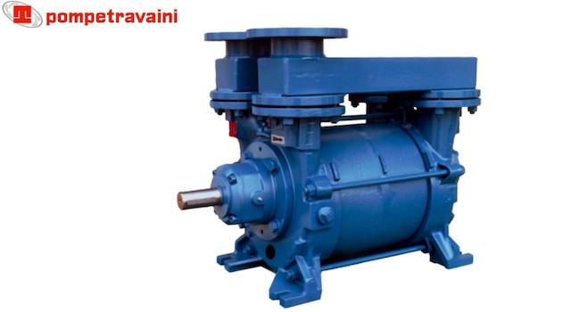Pompes à vide Travaini pour tous types d'applications industrielles. Modèle TRS.