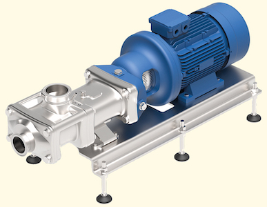 Wangen Twin Screw pumps, ideal for food processing, chemicals, ....