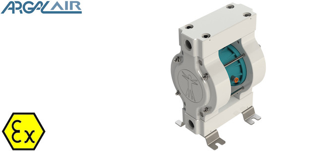 AODD Argal ASTRAsolid air operated double diaphram pumps