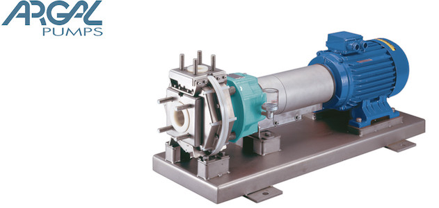 Argal Frontiera - Centrifugal pump made of synthetic material with magnetic coupling or not, for the chemical industry.