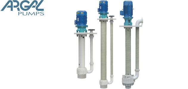 Argal K2 KGK cantilever pumps for tanks and sump