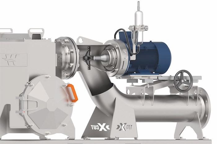Wangen X-CUT uitzonderlijk vermogen om alle puin en vreemde stoffen uit geladen vloeistoffen te snijden.
