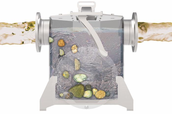 Wangen X-TRACT uitzonderlijke vermogen om alle vreemde debris te verwijderen uit geladen vloeistoffen.