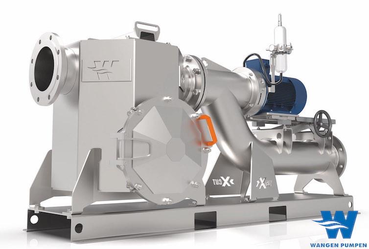 Wangen X-Unit, the best fluid system to reduce loaded fluids before being injected into pumps & pipings.